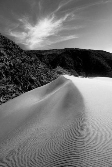 A Sand Dune Ridge Near Palm Springs-Ben Horton-Photographic Print