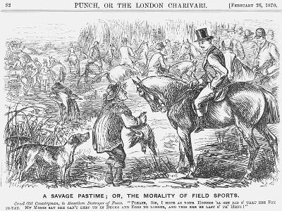 A Savage Pastime; Or, the Morality of Field Sports, 1870-Georgina Bowers-Giclee Print