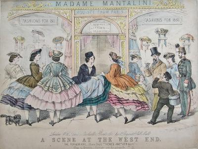 A Scene at the West End, C.1860--Giclee Print