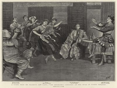 A Scene from Mr Barrie's New Play, The Admirable Crichton, at the Duke of York's Theatre-Henry Marriott Paget-Giclee Print