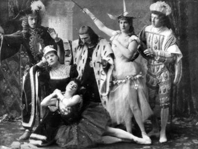 A Scene from the First Performance of Tchaikovsky's Ballet 'The Sleeping Beauty' at the Mariinsky…