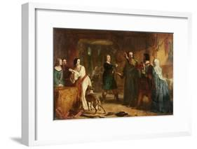 A Scene from 'The Lady of the Lake'-Alexander Johnston-Framed Giclee Print