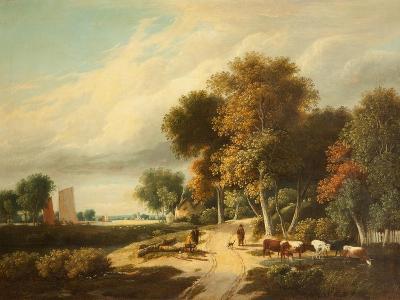 A Scene in Norfolk-Samuel David Colkett-Giclee Print