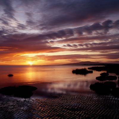 A Scenic Atmospheric Landscape Sunset- South West Images Scotland-Photographic Print