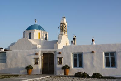 A Scenic View of a Private Church in Naousa-Sergio Pitamitz-Photographic Print