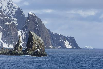 A Scenic View of Cape Valentine on Elephant Island, Antarctica-Ralph Lee Hopkins-Photographic Print