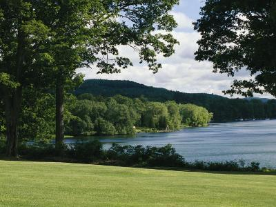 A Scenic View of Otsego Lake Near Cooperstown, New York-Raymond Gehman-Photographic Print