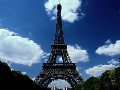 A Scenic View of the Eiffel Tower-Todd Gipstein-Photographic Print