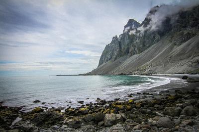 A Scenic View of the Icelandic Coast-Erika Skogg-Photographic Print