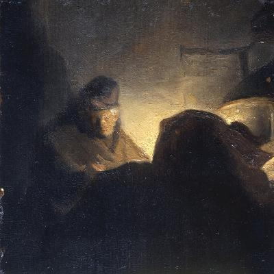 A Scholar in his Study-Rembrandt van Rijn-Giclee Print