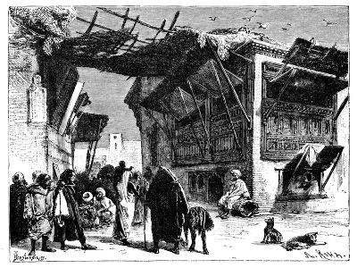 A School in Fez, Morocco, 1895-Ivan Pranishnikoff-Giclee Print