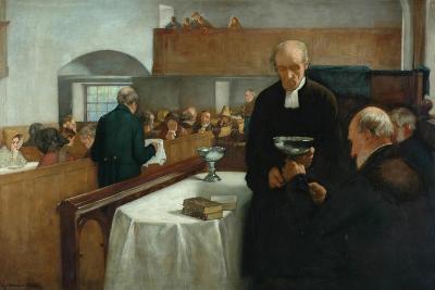 A Scottish Sacrament-Henry John Dobson-Giclee Print