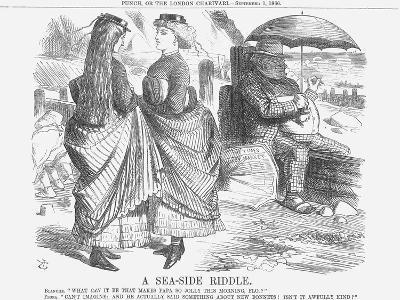 A Sea-Side Riddle, 1866-John Tenniel-Giclee Print