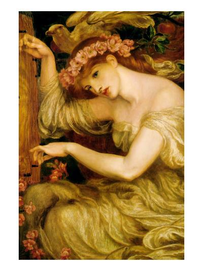A Sea Spell-Dante Gabriel Rossetti-Art Print
