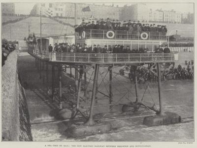 A Sea-Trip by Rail, the New Electric Railway Between Brighton and Rottingdean