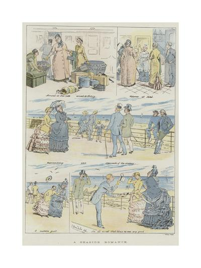 A Seaside Romance--Giclee Print