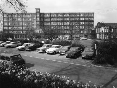 A Selection of 1960S Cars in a Car Park, York, North Yorkshire, May 1969-Michael Walters-Photographic Print