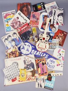 A Selection of Beatles Memorabilia, 1960s