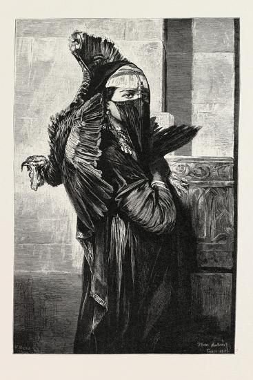 A Seller of Turkeys, Egypt, 1879--Giclee Print