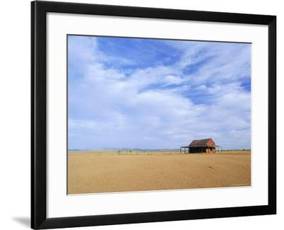 A Shack in the Outback, New South Wales, Australia-Mark Mawson-Framed Photographic Print