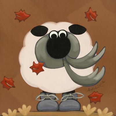 A Sheep in Fall Clothing-Annie Lane-Giclee Print