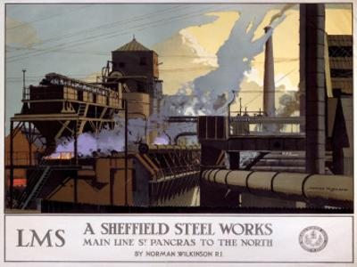 A Sheffield Steel Works, LMS, c.1923-1947