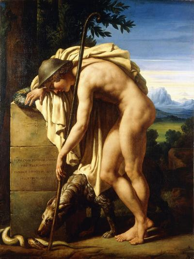 A Shepherd Weeping on a Tomb Erected to a Gnat, 1808-Felix Boisselier-Giclee Print