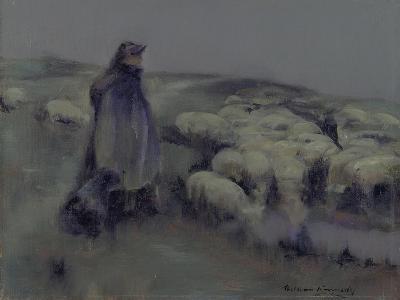 A Shepherdess, C.1890-95-William Kennedy-Giclee Print