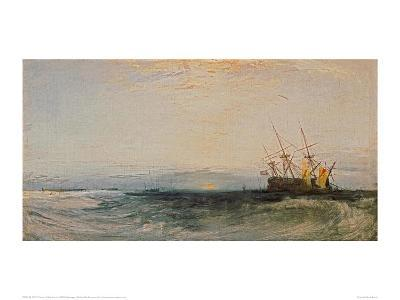 A Ship Around, 1828-J^ M^ W^ Turner-Giclee Print