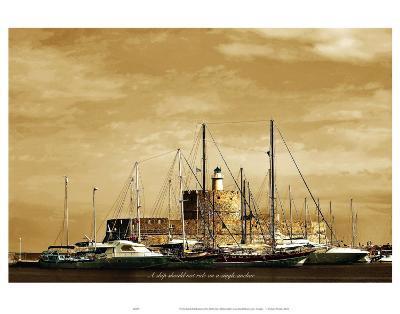 A Ship Should Not Ride on a Single Anchor-Graham Rhodes-Art Print