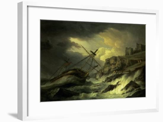 "A Shipwreck, Said to be ""The Dutton""-Thomas Luny-Framed Giclee Print"