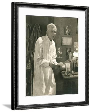 A Shocking Discovery--Framed Photo