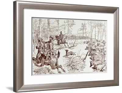 A Shooting Excursion in Turkey--Framed Giclee Print