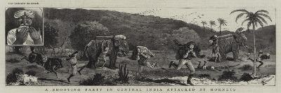 A Shooting Party in Central India Attacked by Hornets-Alfred Chantrey Corbould-Giclee Print