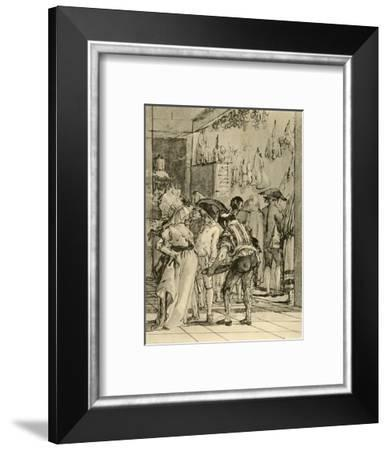 'A Shop with smoked Wares', 1791, (1928)-Giovanni Domenico Tiepolo-Framed Giclee Print