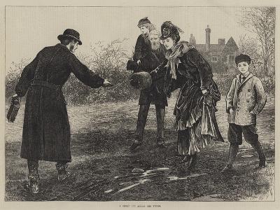 A Short Cut across the Fields-Arthur Hopkins-Giclee Print