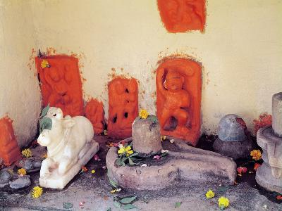 A Shrine of a Chapel on the Ganges--Giclee Print