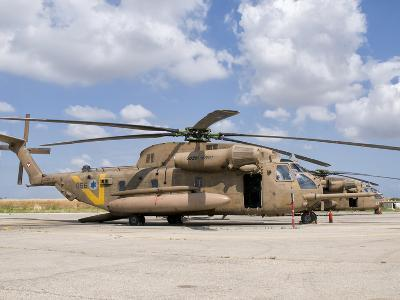 A Sikorsky CH-53 Yasur of the Israeli Air Force-Stocktrek Images-Photographic Print