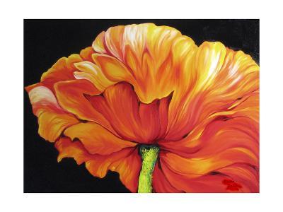 A Single Poppy-Marcia Baldwin-Art Print