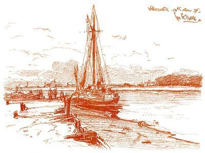 A Sketch at Walberswick, 1899-George Charles Haite-Giclee Print