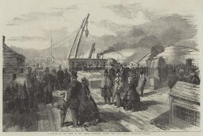 A Sketch on the Deck of the Great Eastern During the Late Public Inspection--Giclee Print