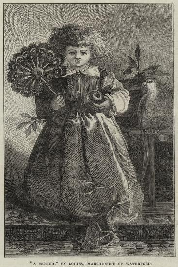 A Sketch--Giclee Print