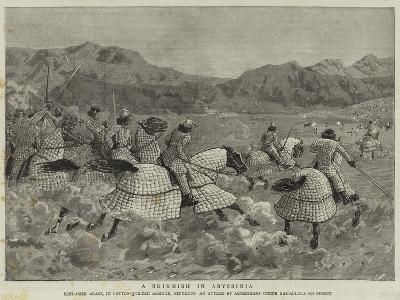 A Skirmish in Abyssinia--Giclee Print
