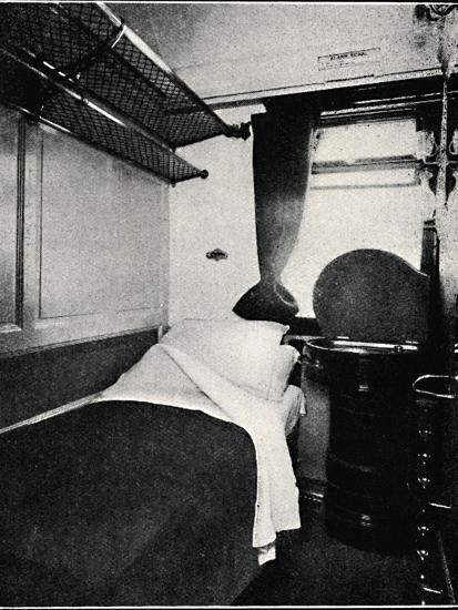 'A Sleeping Berth on the Night Scotsman, London & North Eastern Railway', 1926-Unknown-Photographic Print