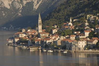 A Small Town on the Fjord Approaching Kotor, Montenegro, Europe-James Emmerson-Photographic Print