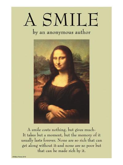A Smile--Art Print