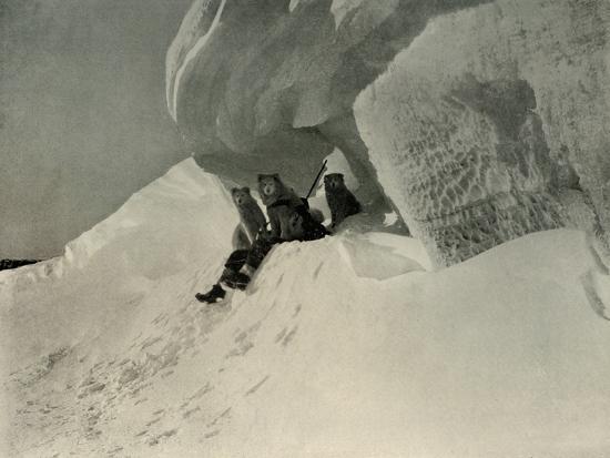 'A Snow Cornice', c1908, (1909)-Unknown-Photographic Print