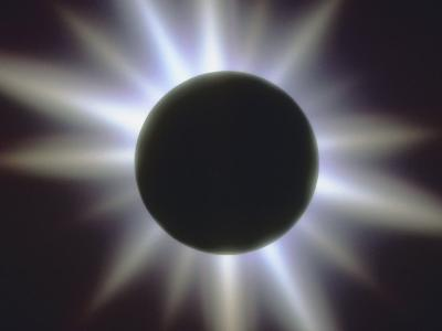 A Solar Eclipse--Photographic Print