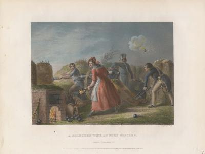 A Soldier's Wife at Fort Niagara, 1860--Giclee Print