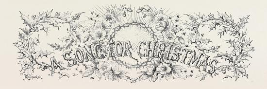 A Song for Christmas--Giclee Print
